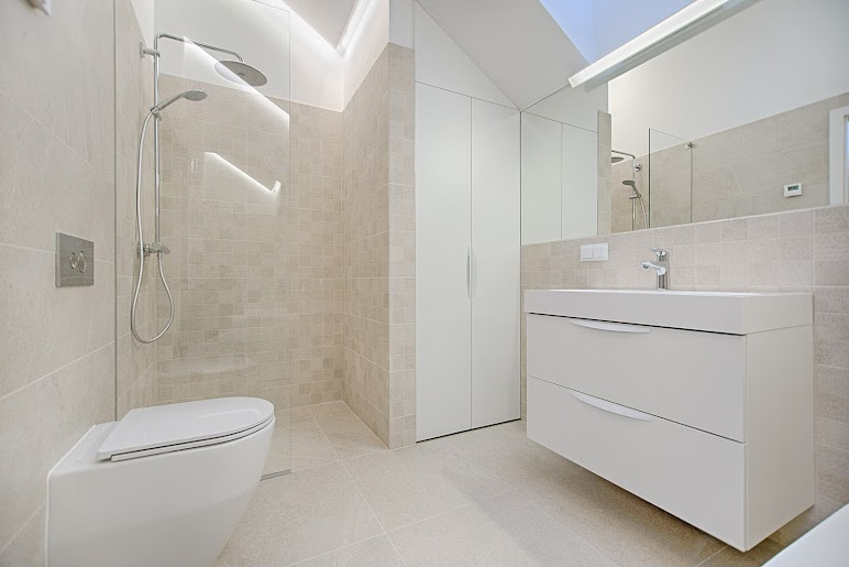 Architectural Photography of Toilet