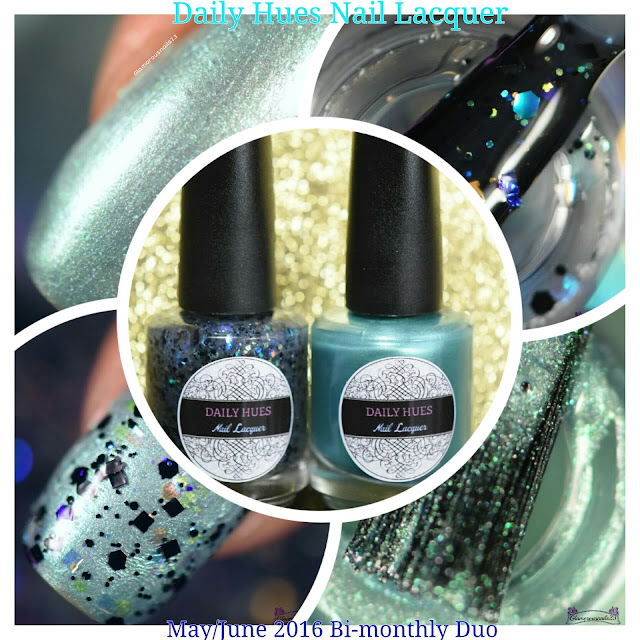 Daily Hues Nail Lacquer May/June Bi-Monthly Duo