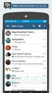 BBM Mod Themes Instagram Apk 2.12.0.9 [IG]