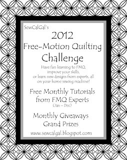 Insights From Sewcalgal May 2012 Fmq Challenge Tutorial By