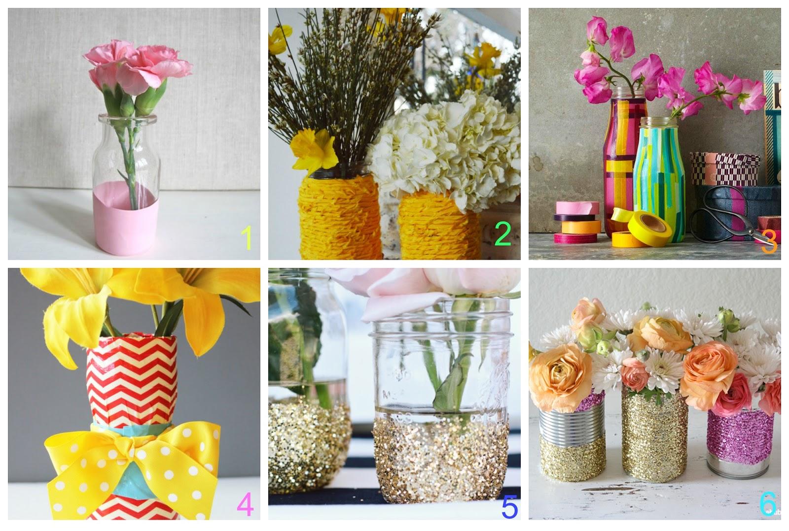 6 vasi fai da te con materiali riciclati donneinpink for Vasi fai da te