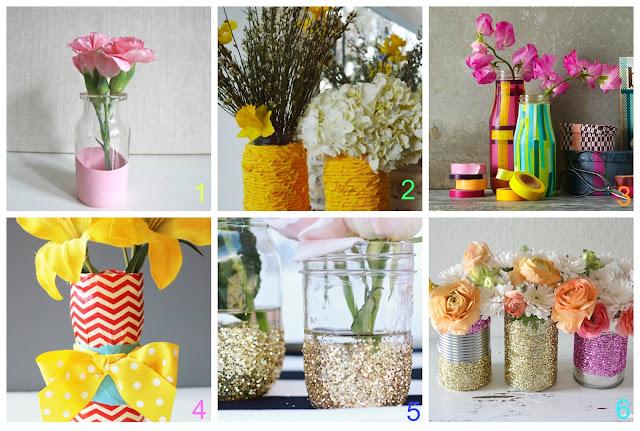 6 vasi fai da te con materiali riciclati donneinpink for Fai da te casa riciclo