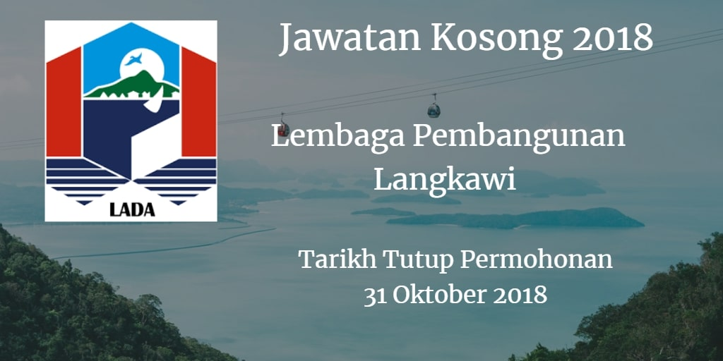 Jawatan Kosong LADA 31 Oktober 2018
