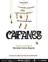 concierto de CAIFANES en Bogotá