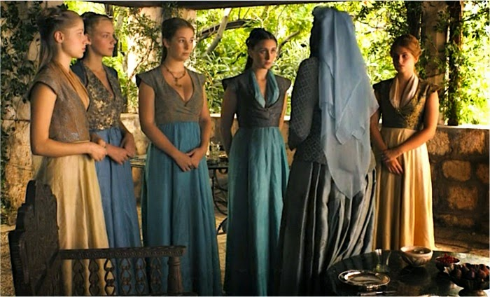 Game Of Clothes Sansa Stark And Margaery Tyrell In Two