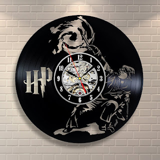 Harry Potter Vinyl Record Wall Clock