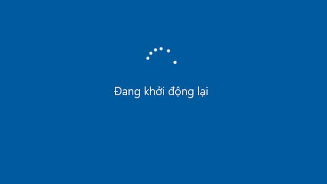 Fix lỗi không hiển thị các nút chấm xoay vòng khi khởi động hoặc tắt máy tính