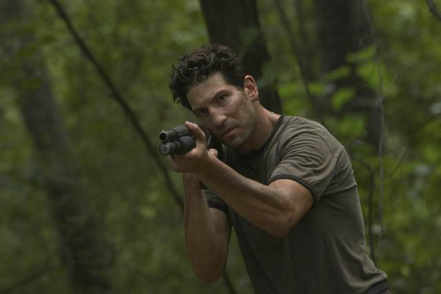 Shane Walsh, The Walking Dead, Mossberg 590 shotgun