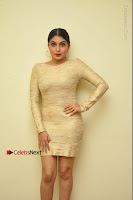 Actress Pooja Roshan Stills in Golden Short Dress at Box Movie Audio Launch  0127.JPG