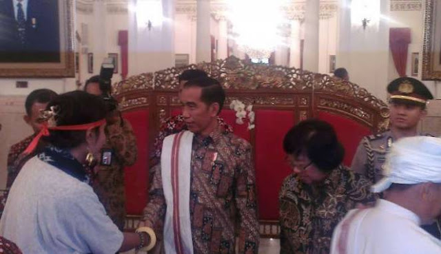 Heboh, Dianggap Tak Tepat Janji, Aliansi Masyarakat Adat Ancam Tarik Dukungan ke Jokowi