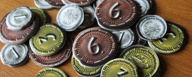 7 Wonders: Duel coins
