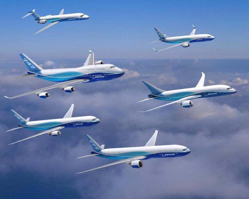 Supernova之家: 世界主要民航機製造商-波音(World Major Civil Aircraft Manufacturers-Boeing)-2015