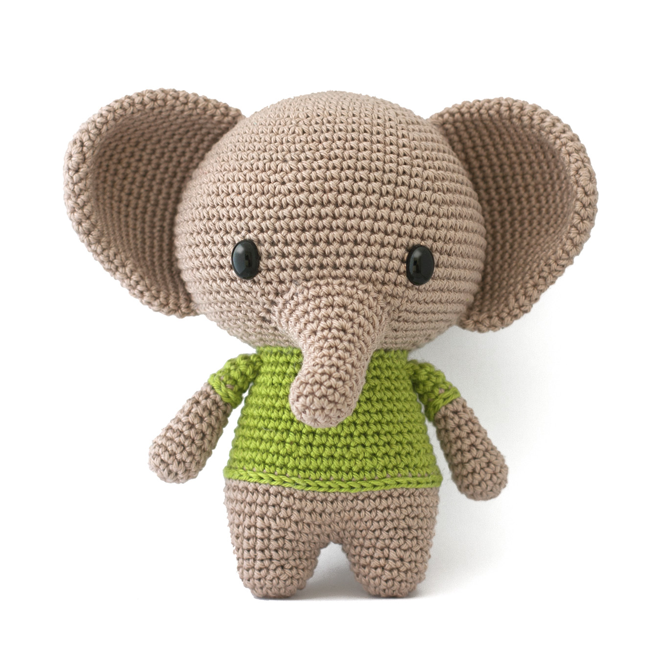 Amigurumi Pattern Maker : Toy Patterns by DIY Fluffies : Joe the elephant crochet ...