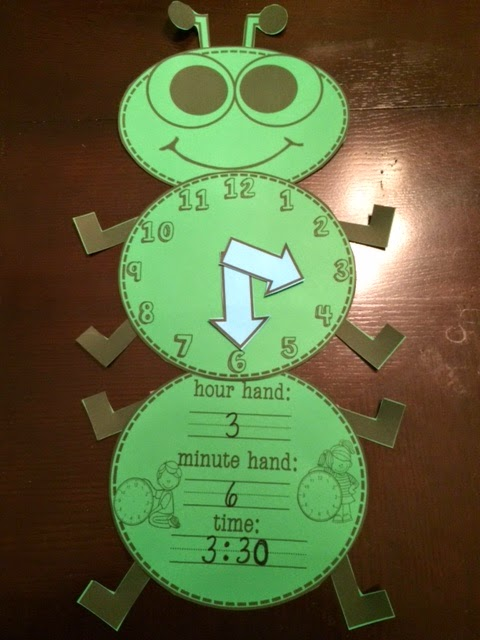 Unforgettable First Grade Tick Tock Tick Tock Telling Time