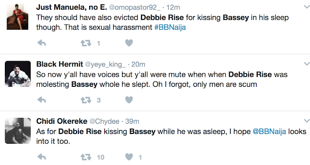 Image result for debbie-rise kisses sleeping bassey