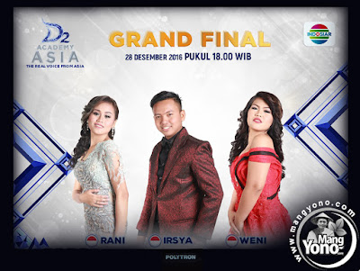 Nilai Sementara : D'Academy Asia 2 ( DAA 2) Grand Final