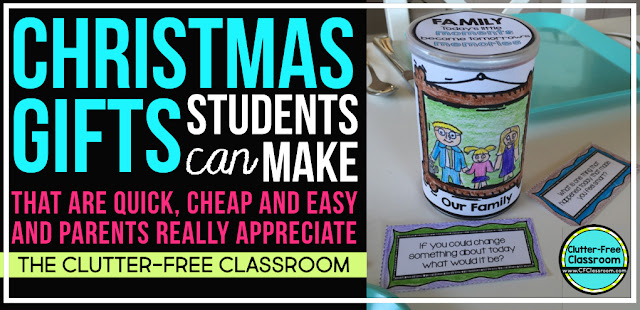 christmas gifts students make for parents kids in school often make holiday presents for their families
