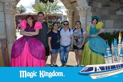 Irmãs da Cinderella - Magic Kingdom