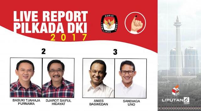 pemenang pilkada DKI Jakarta