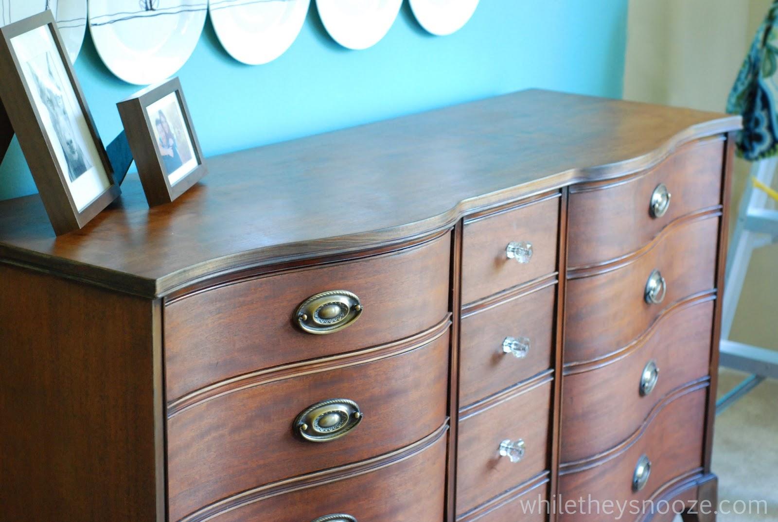 Fix Old Dresser Drawers