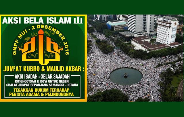 Tegakkan Hukum Seadil-Adilnya! Aksi Bela Islam 3 akan Dilaksanakan pada 2 Desember 2016 : Berita Terbaru Hari Ini