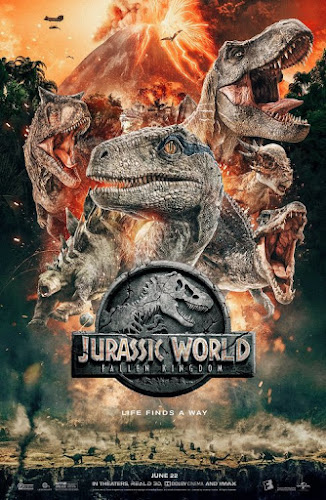 Jurassic World: Fallen Kingdom (BRRip 720p Dual Latino / Ingles) (2018)