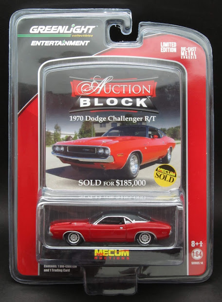 Diecast Hobbist Greenlight Auction Block Series 14