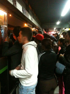 The etiquette deficit in Bogotá's Transmilenio transport system ...