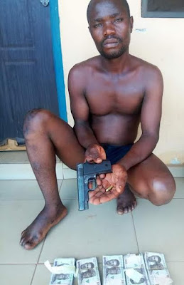 Student Arrested With Guns In Benue State Confesses To Being A Cultist [Photos]