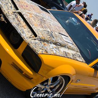 Ford Mustang Custom Hood