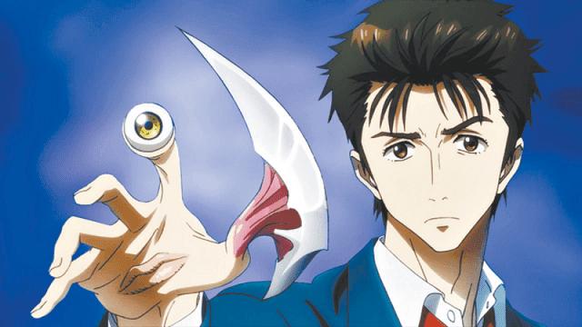 Shinichi dan Migi bekerjasama melawan parasyte yang ingin menguasai bumi