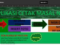 Aplikasi Cetak Kartu NISN Massal Lengkap dengan Photo