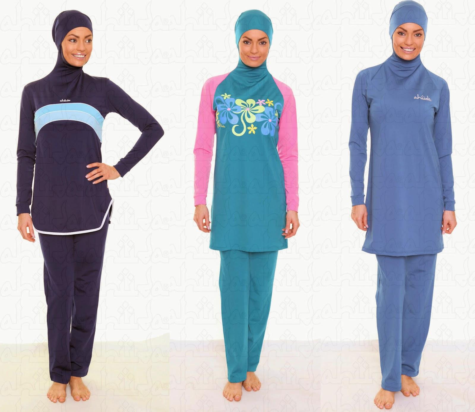 Trend Model Baju Muslim Renang Wanita Terbaik 2015