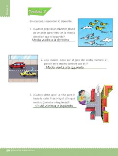 Respuestas Apoyo Primaria Desafíos matemáticos 3ro Grado Bloque IV Lección 61 Una coreografía