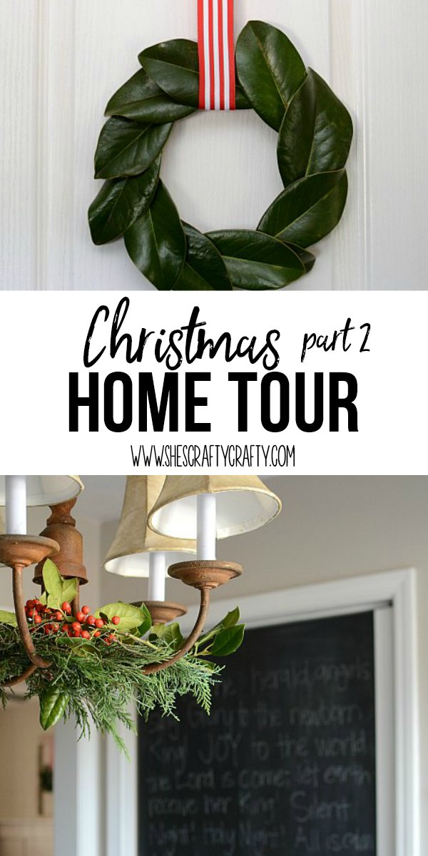 magnolia wreath, chalkboard, wreath, decorate chandelier