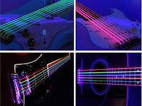 неоновые струны для гитар