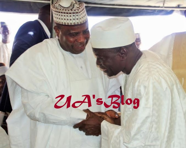 Wild Jubilation In APC As Governor Reconciles With Senator (Photo)