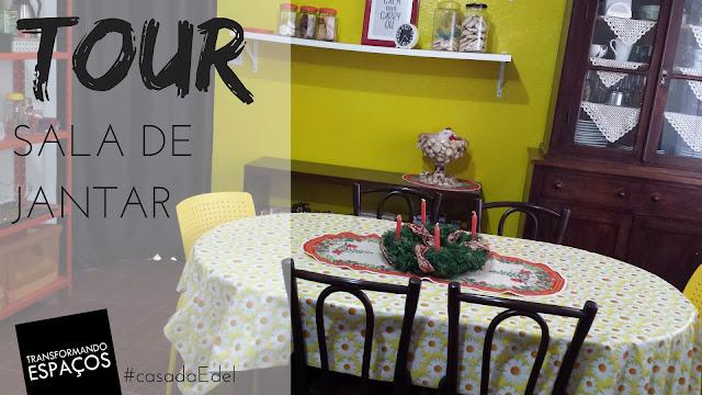Tour pela Sala de Jantar | Casa de Personal Organizer