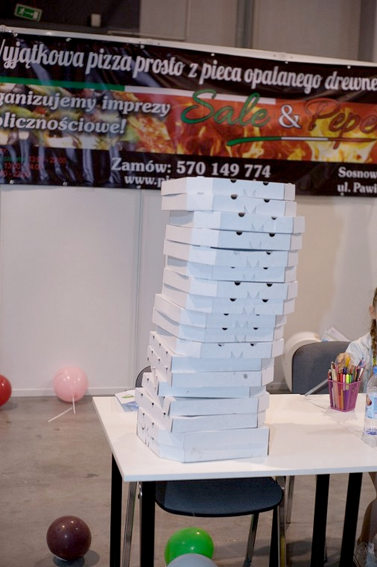 spotkanie blogujących mam MAMblog II pizza