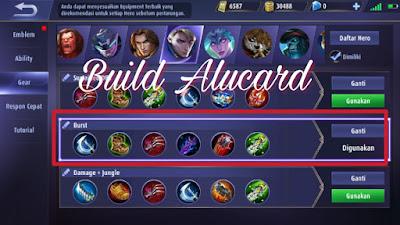 build item alucard