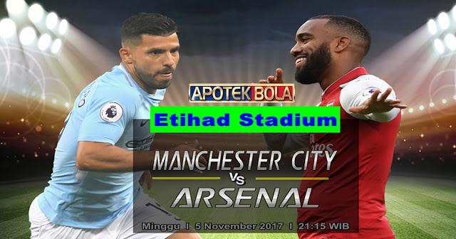 Manchester City vs Arsenal 5 November 2017