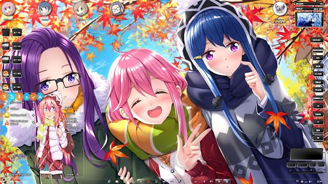 Yuru Camp△ Theme Win 7 by Andrea_37