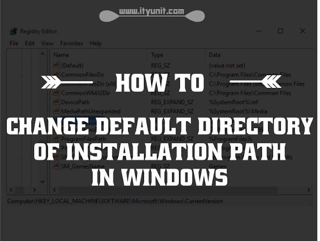 change-default-installation-directory-Windows-10