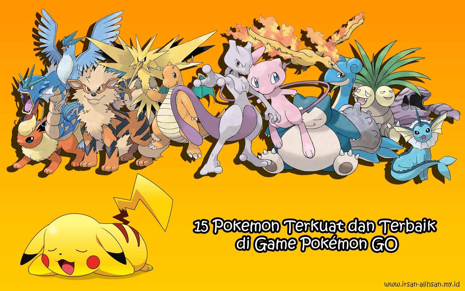 15 Pokemon Terkuat Dan Terbaik Di Game Pokmon GO Dengan Max