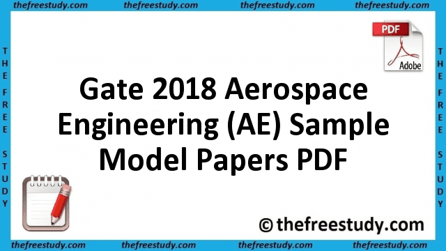 Gate Sample Papers Pdf
