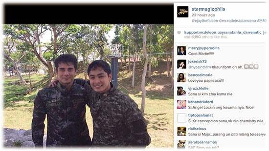 Coco Martin and Angel Locsin on MMK 'Fallen 44'
