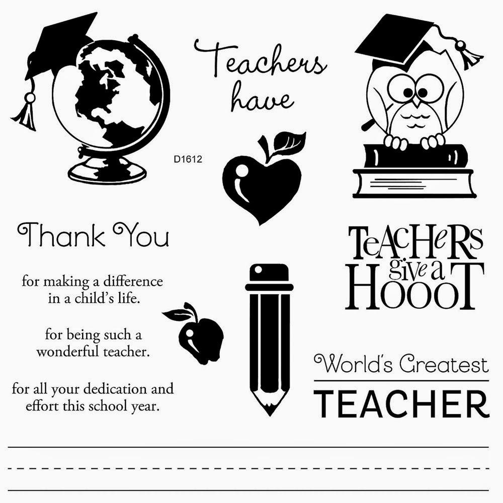 Flaunt Your Creativity: Teacher Appreciation Tag