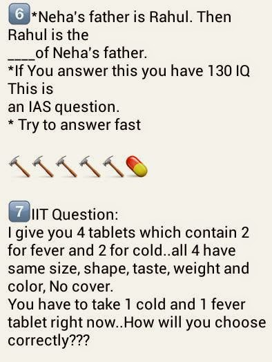 Whatsapp king Quiz Question 6 and 7