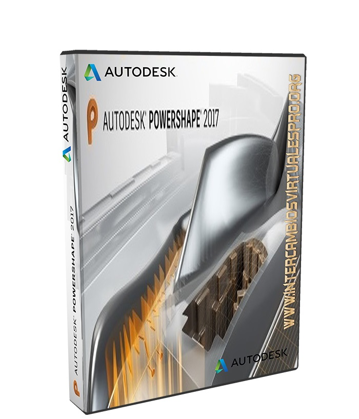 AutoDesk PowerShape 2017 poster box cover