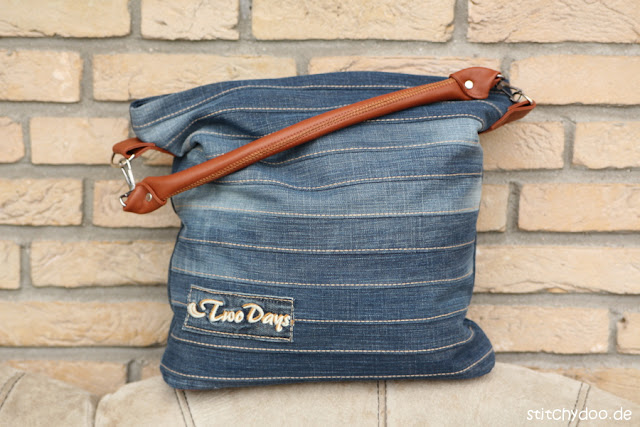 Upcycling-Tasche Chobe | Jeans-Recycling par excellence